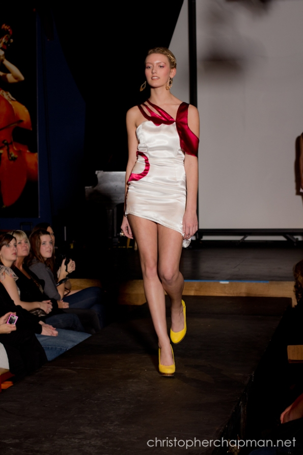 Cindy Wang's Comcast inspired design. Photo by Christopher Chapman